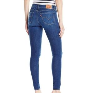 Levis 710 Super Skinny Jeans High Waisted Stretchy